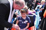 2011 Lourdes Pilgrimage - Archbishop Dolan with Malades (123/267)