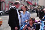 2011 Lourdes Pilgrimage - Archbishop Dolan with Malades (124/267)