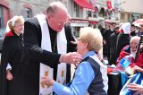 2011 Lourdes Pilgrimage - Archbishop Dolan with Malades (128/267)