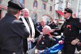 2011 Lourdes Pilgrimage - Archbishop Dolan with Malades (140/267)