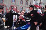 2011 Lourdes Pilgrimage - Archbishop Dolan with Malades (141/267)