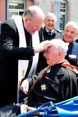 2011 Lourdes Pilgrimage - Archbishop Dolan with Malades (142/267)