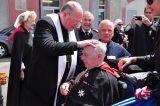 2011 Lourdes Pilgrimage - Archbishop Dolan with Malades (143/267)