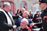 2011 Lourdes Pilgrimage - Archbishop Dolan with Malades (144/267)