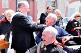 2011 Lourdes Pilgrimage - Archbishop Dolan with Malades (145/267)