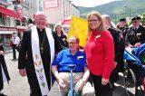 2011 Lourdes Pilgrimage - Archbishop Dolan with Malades (154/267)