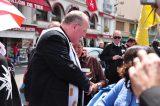 2011 Lourdes Pilgrimage - Archbishop Dolan with Malades (168/267)