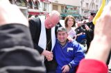 2011 Lourdes Pilgrimage - Archbishop Dolan with Malades (172/267)