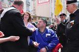 2011 Lourdes Pilgrimage - Archbishop Dolan with Malades (174/267)