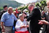2011 Lourdes Pilgrimage - Archbishop Dolan with Malades (181/267)