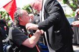 2011 Lourdes Pilgrimage - Archbishop Dolan with Malades (183/267)