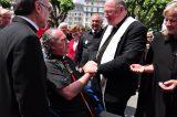 2011 Lourdes Pilgrimage - Archbishop Dolan with Malades (184/267)