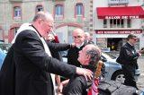 2011 Lourdes Pilgrimage - Archbishop Dolan with Malades (187/267)