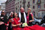 2011 Lourdes Pilgrimage - Archbishop Dolan with Malades (194/267)