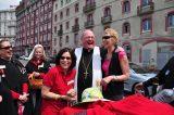 2011 Lourdes Pilgrimage - Archbishop Dolan with Malades (195/267)