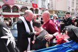 2011 Lourdes Pilgrimage - Archbishop Dolan with Malades (198/267)