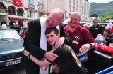 2011 Lourdes Pilgrimage - Archbishop Dolan with Malades (200/267)