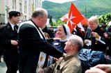2011 Lourdes Pilgrimage - Archbishop Dolan with Malades (208/267)