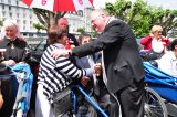 2011 Lourdes Pilgrimage - Archbishop Dolan with Malades (231/267)