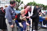 2011 Lourdes Pilgrimage - Archbishop Dolan with Malades (245/267)