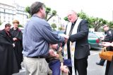 2011 Lourdes Pilgrimage - Archbishop Dolan with Malades (248/267)