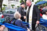 2011 Lourdes Pilgrimage - Archbishop Dolan with Malades (257/267)
