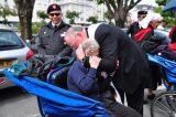 2011 Lourdes Pilgrimage - Archbishop Dolan with Malades (258/267)