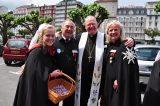 2011 Lourdes Pilgrimage - Archbishop Dolan with Malades (266/267)