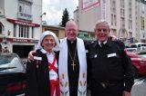 2011 Lourdes Pilgrimage - Archbishop Dolan with Malades (267/267)