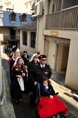 2011 Lourdes Pilgrimage - Footsteps (20/97)