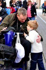 2011 Lourdes Pilgrimage - Footsteps (28/97)