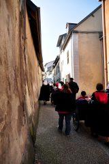 2011 Lourdes Pilgrimage - Footsteps (30/97)