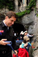 2011 Lourdes Pilgrimage - Footsteps (87/97)