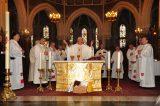 2011 Lourdes Pilgrimage - Upper Basilica Mass (37/67)