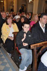 2011 Lourdes Pilgrimage - Upper Basilica Mass (52/67)