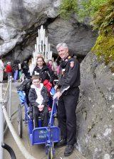 2013 Lourdes Pilgrimage - SATURDAY TRI MASS GROTTO (3/140)