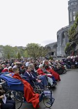 2013 Lourdes Pilgrimage - SATURDAY TRI MASS GROTTO (9/140)
