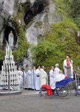 2013 Lourdes Pilgrimage - SATURDAY TRI MASS GROTTO (14/140)