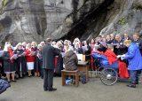 2013 Lourdes Pilgrimage - SATURDAY TRI MASS GROTTO (15/140)