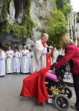 2013 Lourdes Pilgrimage - SATURDAY TRI MASS GROTTO (19/140)