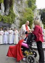2013 Lourdes Pilgrimage - SATURDAY TRI MASS GROTTO (20/140)