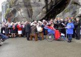 2013 Lourdes Pilgrimage - SATURDAY TRI MASS GROTTO (22/140)