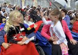 2013 Lourdes Pilgrimage - SATURDAY TRI MASS GROTTO (30/140)
