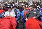 2013 Lourdes Pilgrimage - SATURDAY TRI MASS GROTTO (31/140)