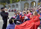 2013 Lourdes Pilgrimage - SATURDAY TRI MASS GROTTO (39/140)