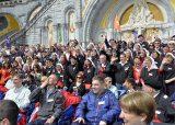 2013 Lourdes Pilgrimage - SATURDAY TRI MASS GROTTO (40/140)