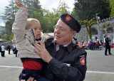 2013 Lourdes Pilgrimage - SATURDAY TRI MASS GROTTO (41/140)