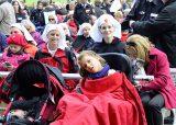 2013 Lourdes Pilgrimage - SATURDAY TRI MASS GROTTO (58/140)