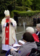 2013 Lourdes Pilgrimage - SATURDAY TRI MASS GROTTO (72/140)