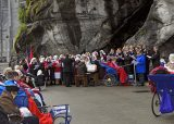 2013 Lourdes Pilgrimage - SATURDAY TRI MASS GROTTO (76/140)